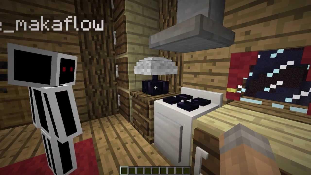 Minecraft Mrcrayfish 39 S Furniture Mod Showcase Swedish Youtube