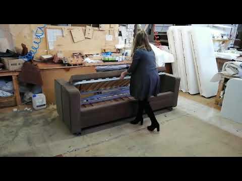 диван трансформер в двухъярусную кровать Тандем