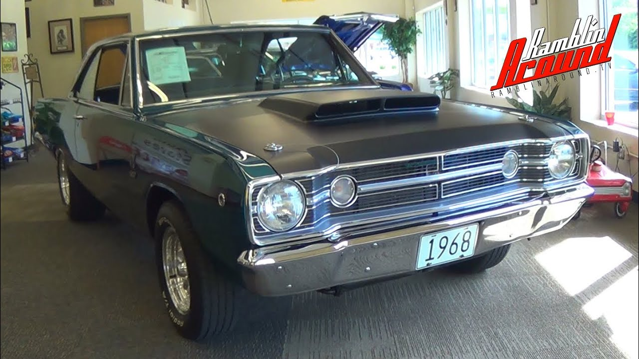 Dodge Dart Philippines >> 1968 Dodge Dart GTS 440 V8 Four-Speed at Passing Lane M... | Doovi