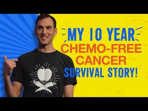10 Yr Chemo-free Cancer Survivor Before & After! (Chris Wark Of Chris Beat Cancer)