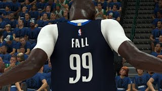 NBA 2K20 Tacko Fall My Career - He's a DEMIGOD!