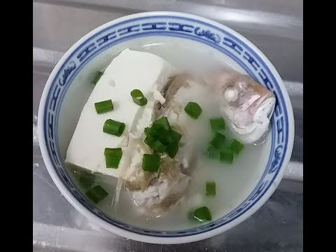 FISH SOUP WITH TOFU