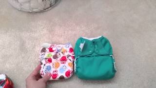 Newborn Size Cloth Diapers, Part 1: newborn vs. one sized diapers