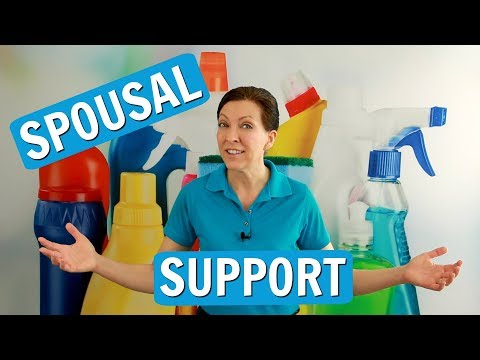 Spousal Support for House Cleaners - 동영상
