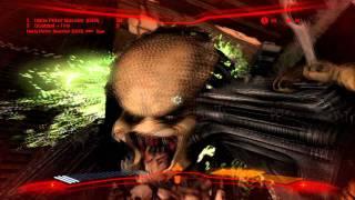 Aliens Vs Predator Gameplay Rafinery Testing AMD ASUS EAH 6870 1 GB DDR5