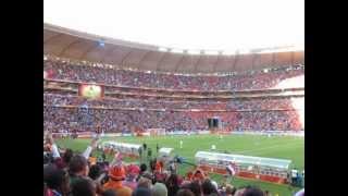 הולנד-דנמרק מהיציע מונדיאל 2010