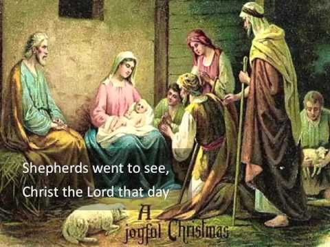 """Christ is Born Today ~ to the tune """"Jingle Bells"""" ~ lyric video"""