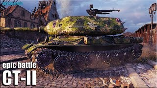10к урона за 7 минут ✅ ДВУСТВОЛКА СТ-2 10 уровня World of Tanks