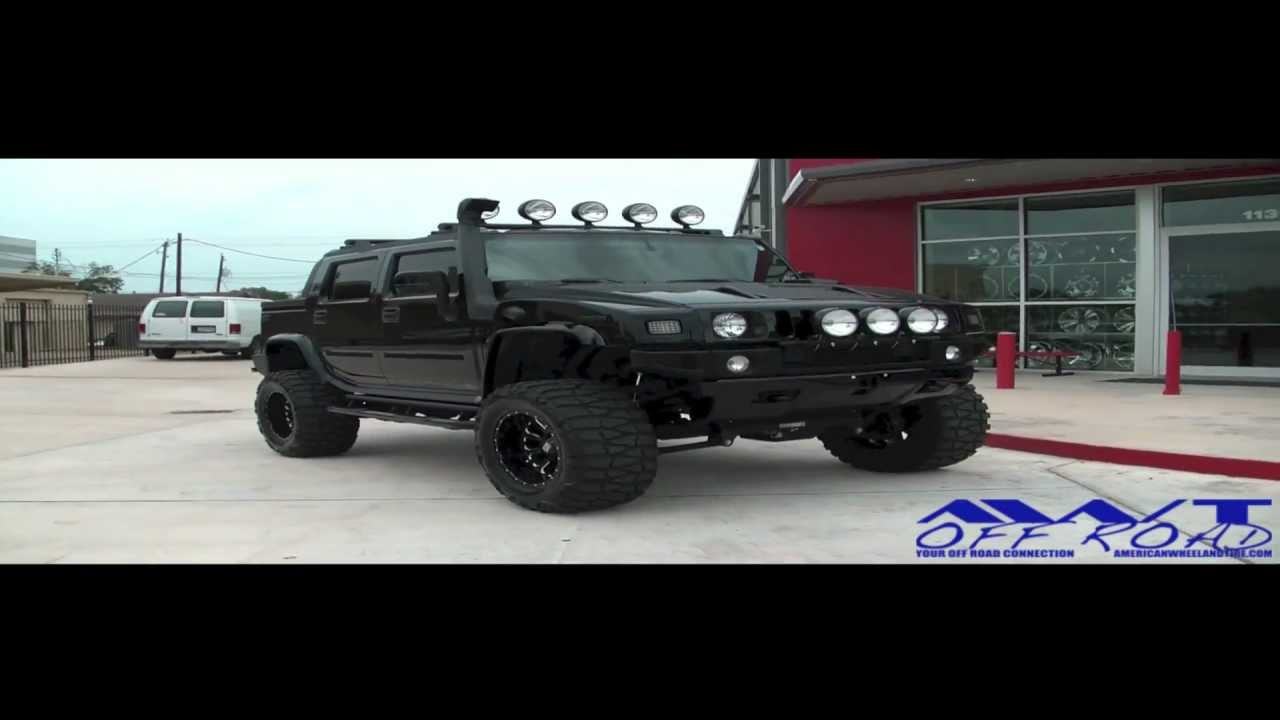 Nice Lifted Black Hummer H2 With 20 Inch Xd Series Bomb