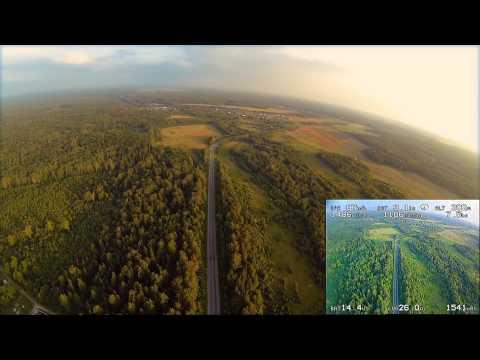 3.6km TBS Discovery FPV Flight