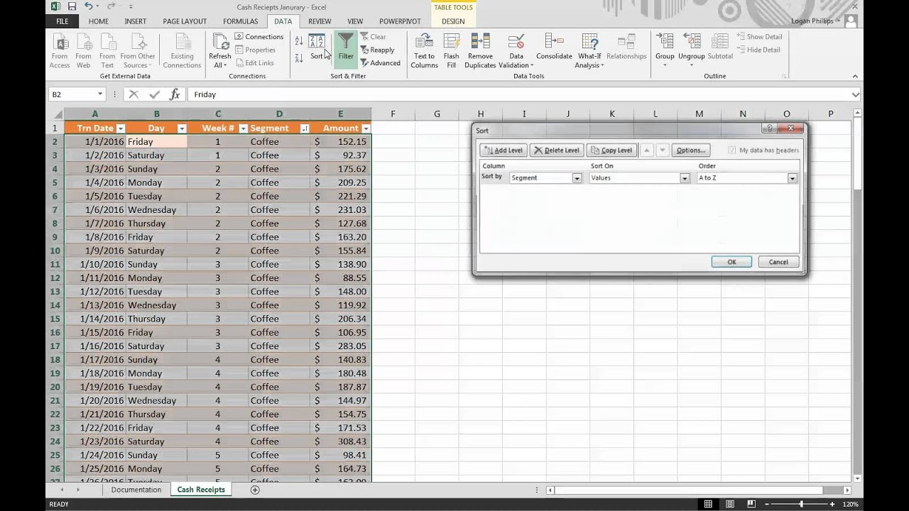 excel assignments for college students