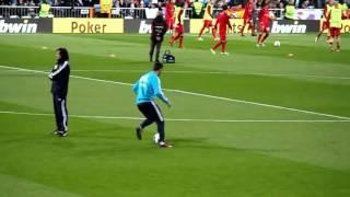 Cristiano Ronaldo Warm-Up