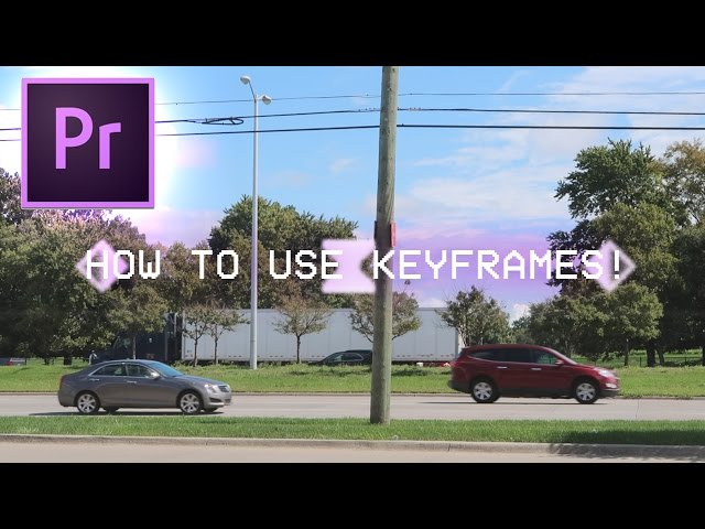 How to use Keyframes in Adobe Premiere Pro CC 2017 Tutorial (Learn Animation Effects)