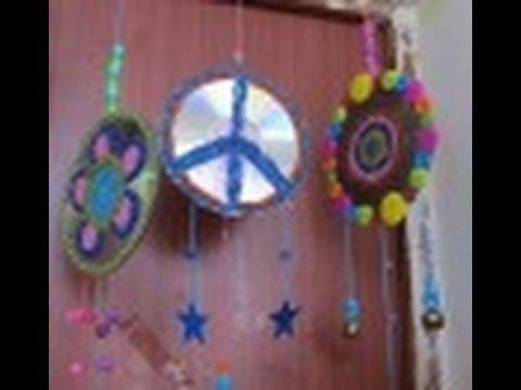 2 1 manualidades de reciclaje como hacer un movil youtube - Reciclaje manualidades decoracion ...