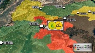 30 ноября 2016. Военная обстановка в Сирии. Свыше 800 боевиков сдались в Алеппо. Русский перевод.