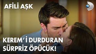Kerem'i durduran sürpriz öpücük! - Afili Aşk 18. Bölüm