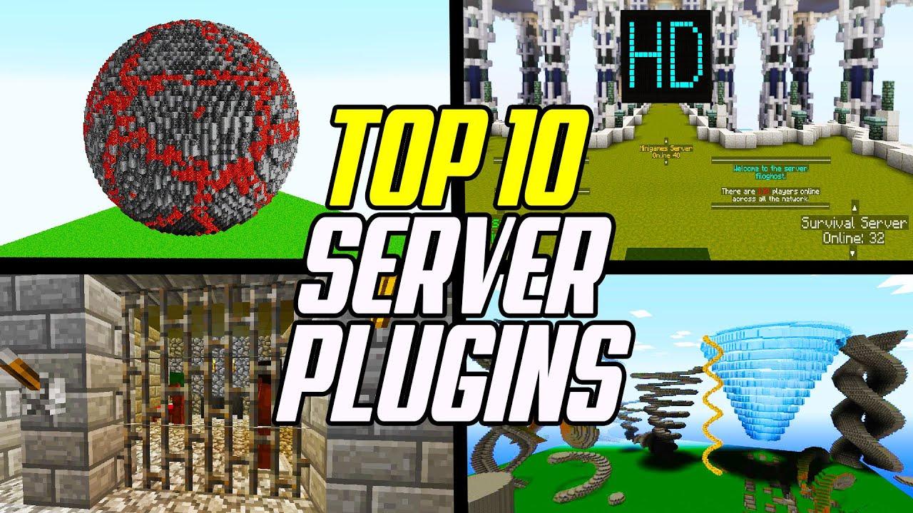 Download Top 10 Minecraft Bukkit & Spigot Plugins (Best Server Plugins)