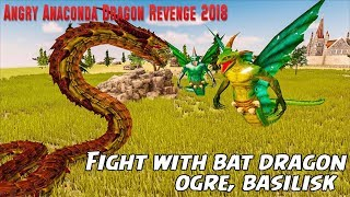 🐲Angry Anaconda Dragon Revenge 2018-By MAS 3D STUDIO - Racing and Climbing Games -Android