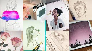 ART Tik Tok Compilation | 5 Minutes of TikTok Artists Created
