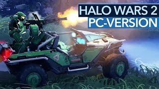 Halo Wars 2 - PC-Version im Angespielt-Video: Optionen und die erste Mission