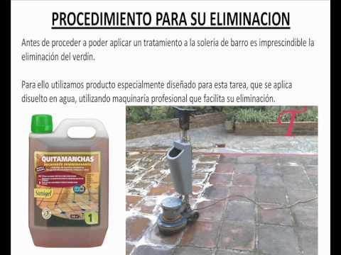 Como eliminar el moho y verd n de un suelo de barro youtube - Como eliminar el moho ...
