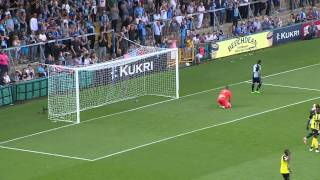 Highlights: Wycombe 1-1 Dag & Red plus ballboy celebration!