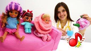 Видео для детей: МиМиЛэнд. Куклы Барби и Лол.