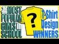 T-Shirt Design Winners!