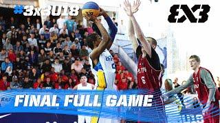 Qatar vs. Brazil - Men´s Final - 2016 FIBA 3x3 U18 World Championships