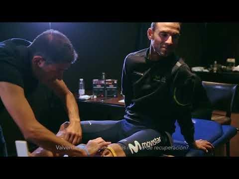 Alejandro Valverde opina sobre las medias de recuperación Sportlast | Movistar Team