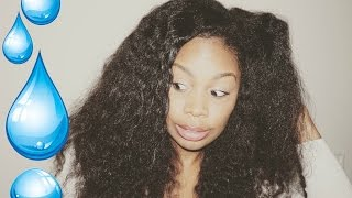 Quench Your Thirsty Curls in a Flash! | Natural Hair