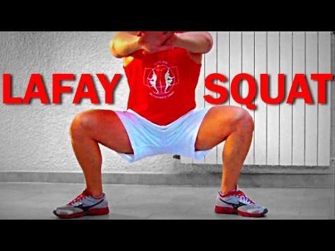 Méthode Lafay Officiel : muscler les cuisses sans charges (exercice E6) -HD 720p