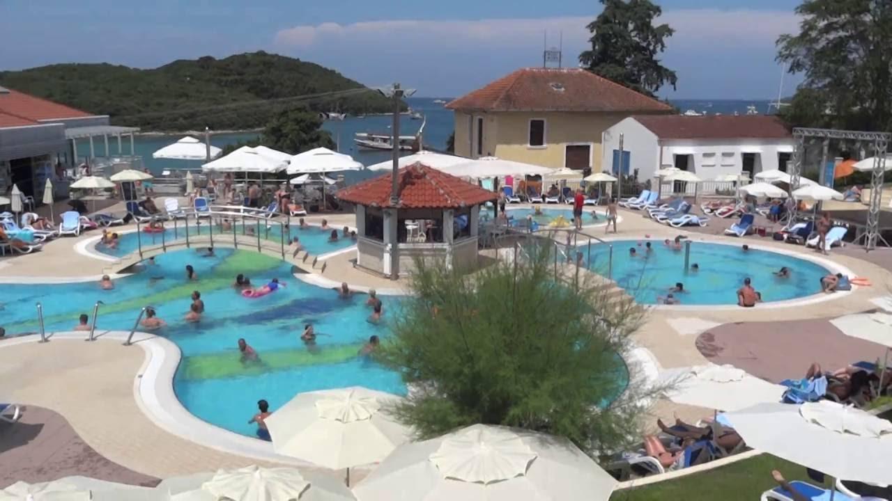 vrsar istria croatia belvedere swimming pool 07 2016 youtube