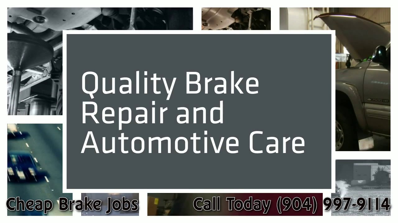 Cheap Brake Jobs >> Best Cheap Brake Jobs Atlantic Beach 904 997 9114 Atlantic