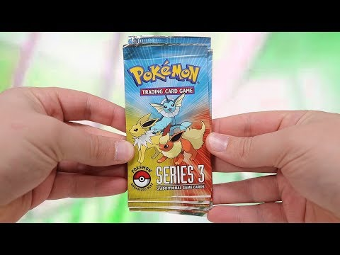 Opening 10 Pokemon Pop Series 3 Booster Packs (2006)