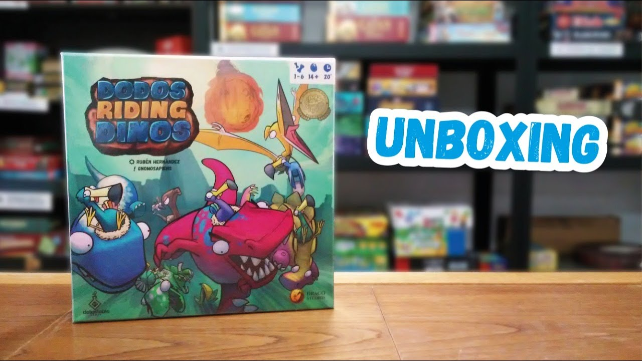 Save the date! Dodos riding Dinos unboxing!! Roooaaarrr!!!