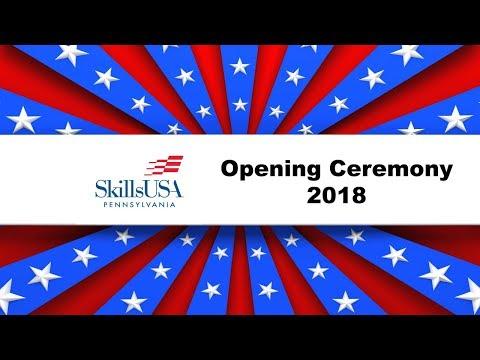 SkillsUSA Pennsylvania Opening Ceremony 2018