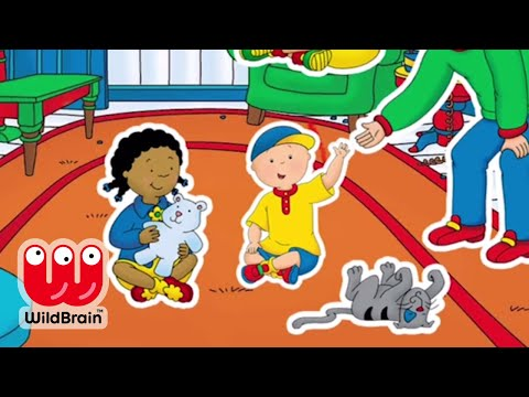A Day With Caillou 👶 Learn Colors Fun Storytime Learning App Game Videos 📱 Best Apps for Kids!