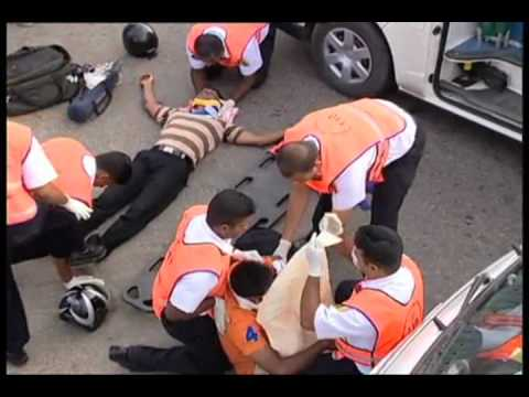 SRI LANKA  Emergency Medical Services #110 / Adult CPR,AED part 1