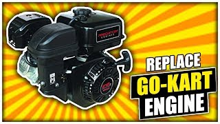 How to Replace the Tecumseh Engine on a Yerf Dog 3203 with a Harbor Freight Predator Engine
