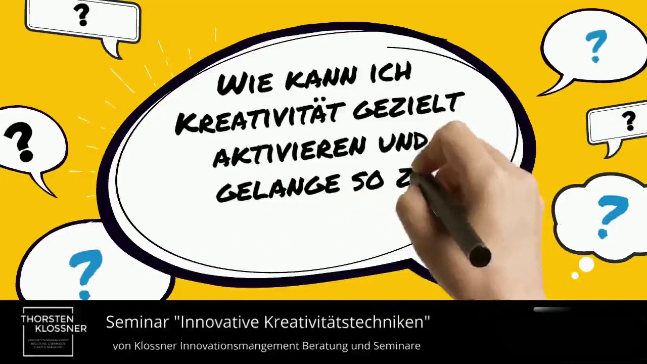 """Abendseminar """"Kreativitätstechniken - Toolbox für Innovationen"""""""