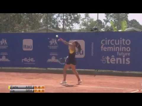 Semi 3er set Lourdes CARLE vs Gabriela CE - ITF Women Brazil 2018