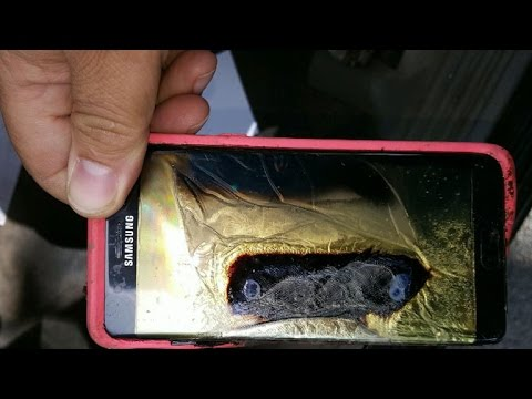 How is Samsung going to deal with their burning phone crisis?