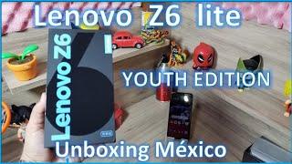 Lenovo Z6 Youth Edition Unboxing México Z6 Lite