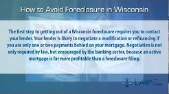 How to stop foreclosure in Wisconsin