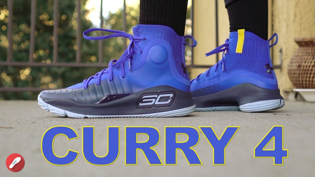 Under Armour Curry 4 First Impressions! - YouTube 8794a1061e