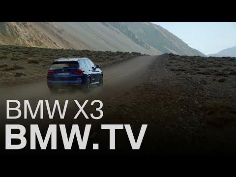 Der neue BMW X3 mit BMW xDrive.