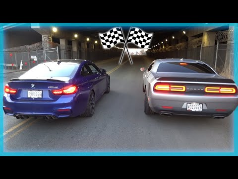 RACING A 2020 M4 IN MY SCAT PACK CHALLENGER! from YouTube · Duration:  10 minutes 9 seconds