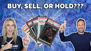 5 Sports Cards: BUY, SELL, or HOLD??📈📉(will Giannis cards ever go back up?)