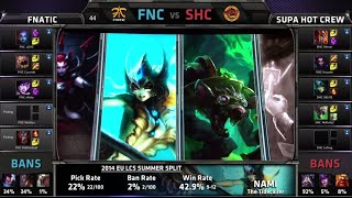Video Fnatic vs SUPA HOT CREW | S4 EU LCS Summer 2014 Super Week 11 Day 1 | FNC vs SHC W11D1 G5 Full Game download MP3, 3GP, MP4, WEBM, AVI, FLV Oktober 2018